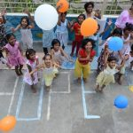 balloon launch for HOPE street children