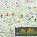 Last 100km map