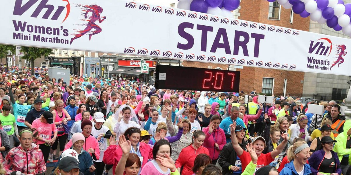 Vhi Womens Mini Marathon The Hope Foundation